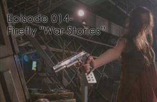 """River aims a gun in the Firefly episode, """"War Stories"""""""